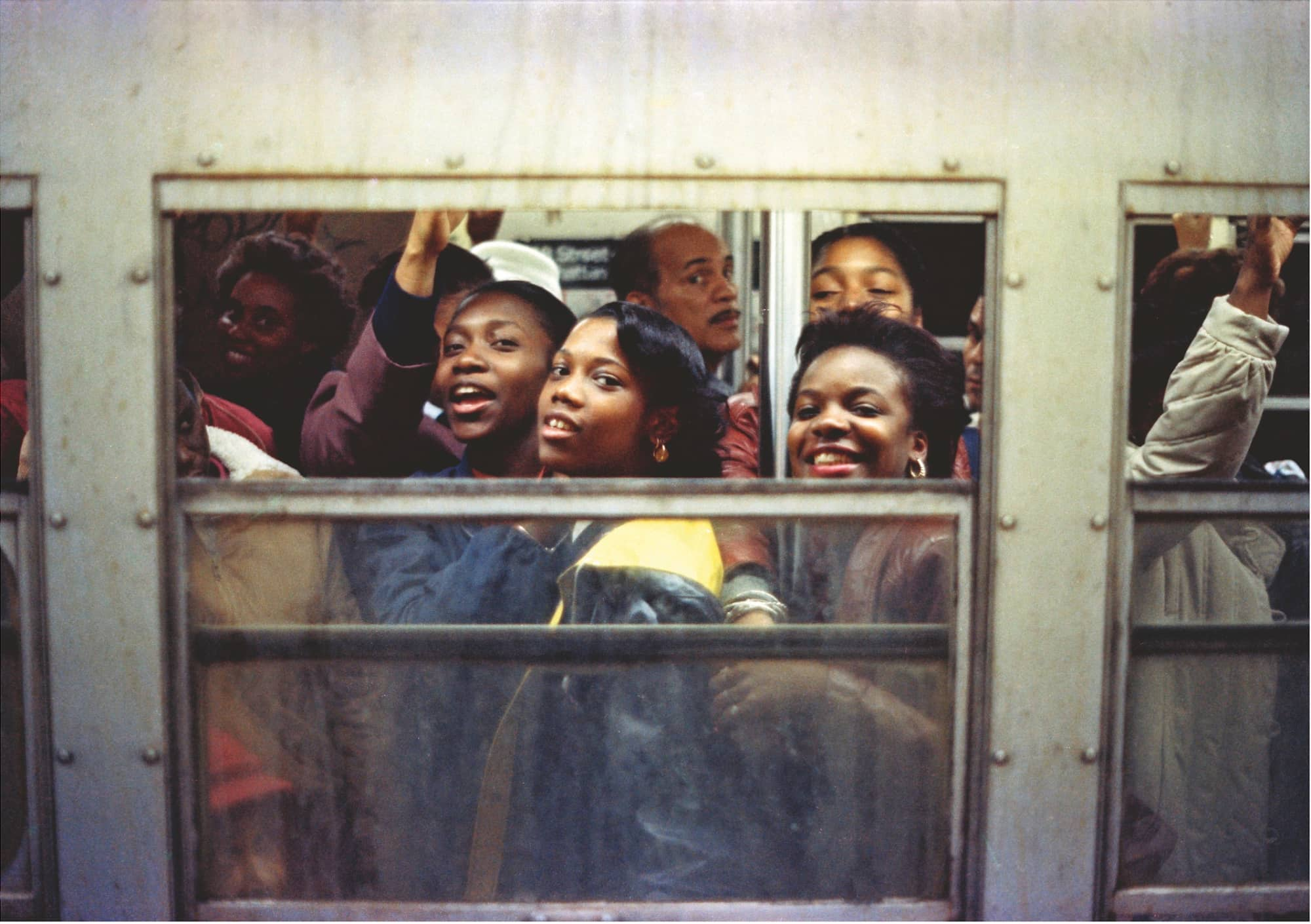 Jamel Shabazz - Rush Hour, NYC 1988