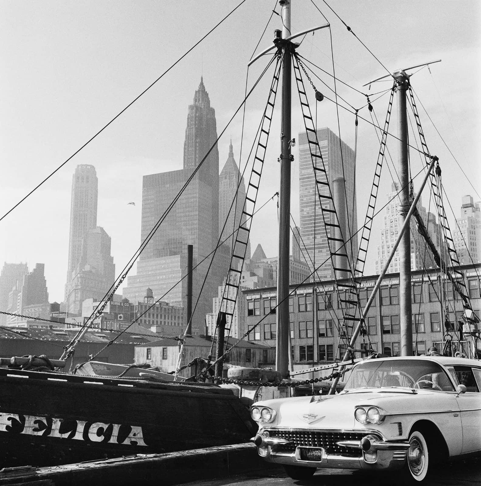 foto: © Sem Presser/MAI - New York 1961, skyline Manhattan