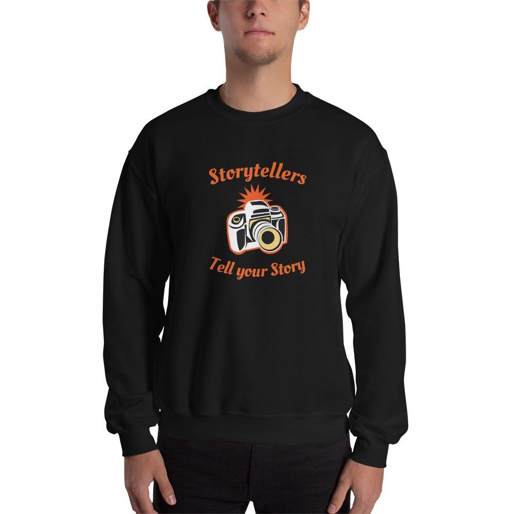 Fotografie cadeau: sweatshirt Storytellers met korte mouwen