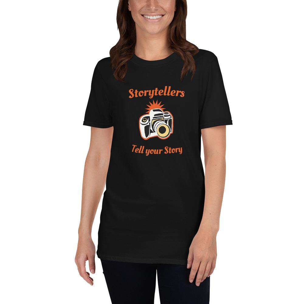 Fotografie cadeau: T-shirt Storytellers met korte mouwen