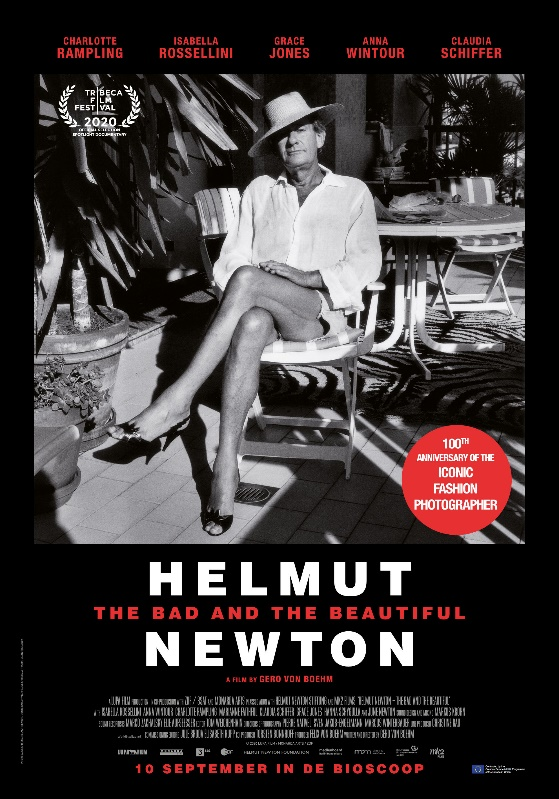 Affiche Documentaire Helmut Newton: The Bad and the Beautiful