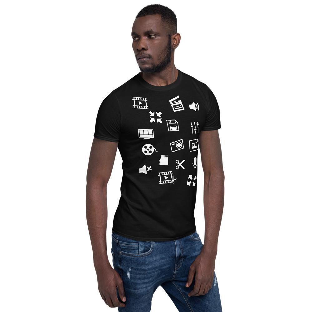 Fotografie cadeau: T-shirt met korte mouwen voor video editor