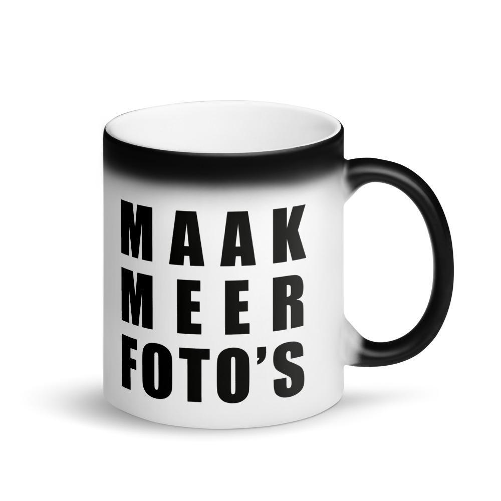 Fotografie cadeau: magische mok met tekst Maak meer foto's