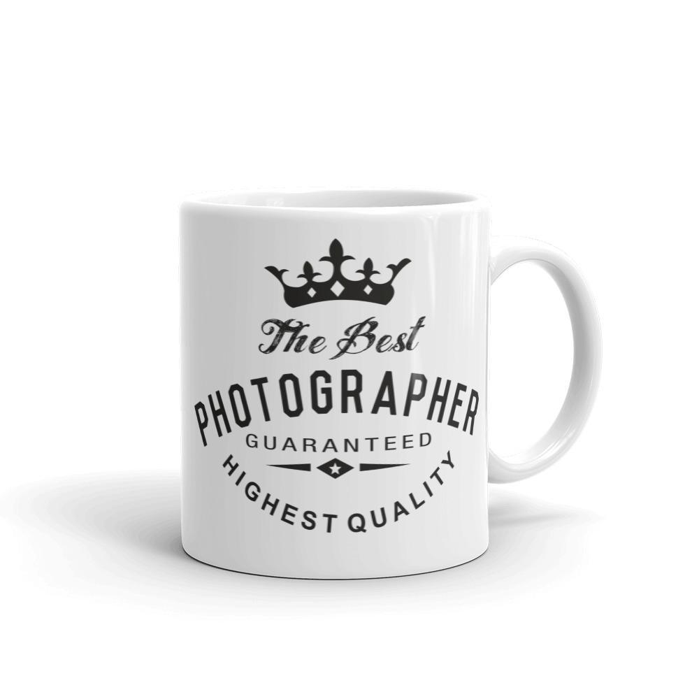 Fotografie cadeau: mok met tekst Best Photographer