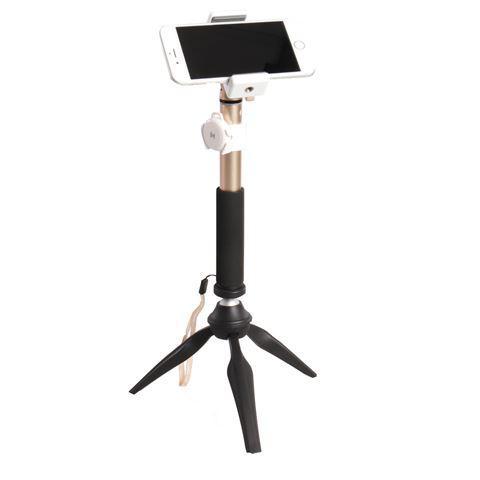 Fotografie cadeau: Matin Selfie Stick met Mini Statief SA10