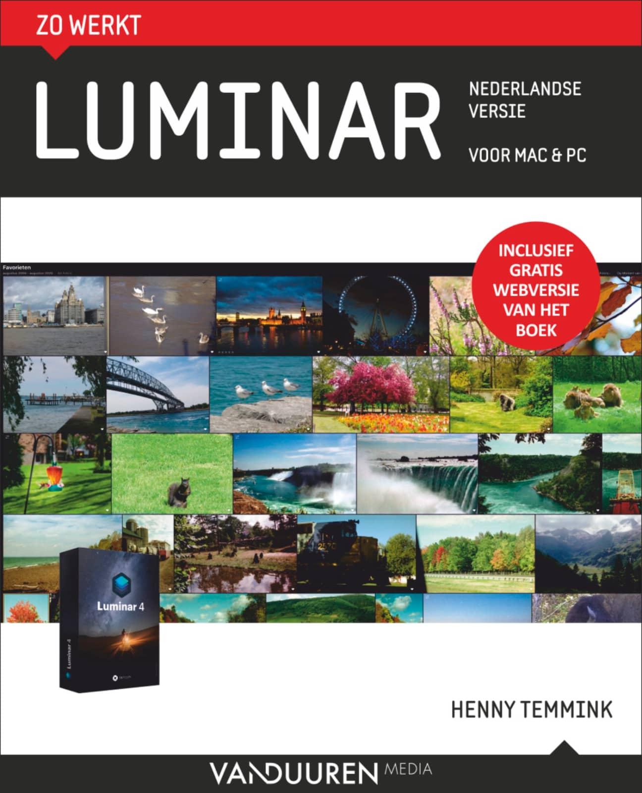 Zo werkt Luminar Voor MAC & PC - Henny Temmink, isbn 9789463561358