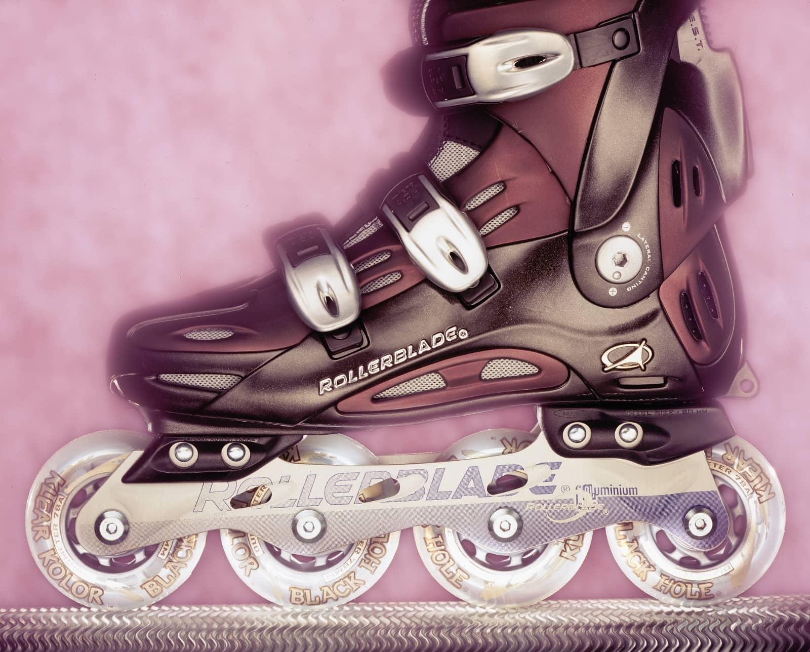 foto: © Alex de Smit - Skate met lightpainting gefotografeerd