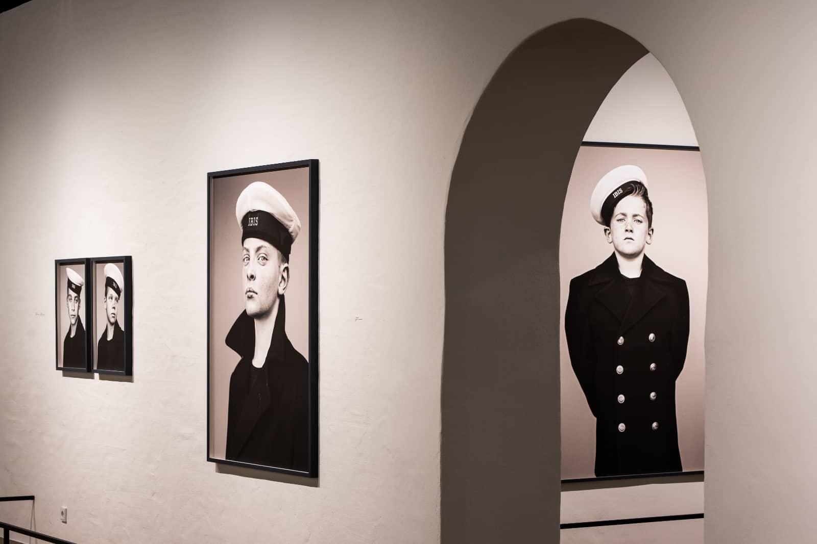 foto: © Twycer - Engelen van de Zee Stephan Vanfleteren, expositie Scheepvaartmuseum Amsterdam 2020