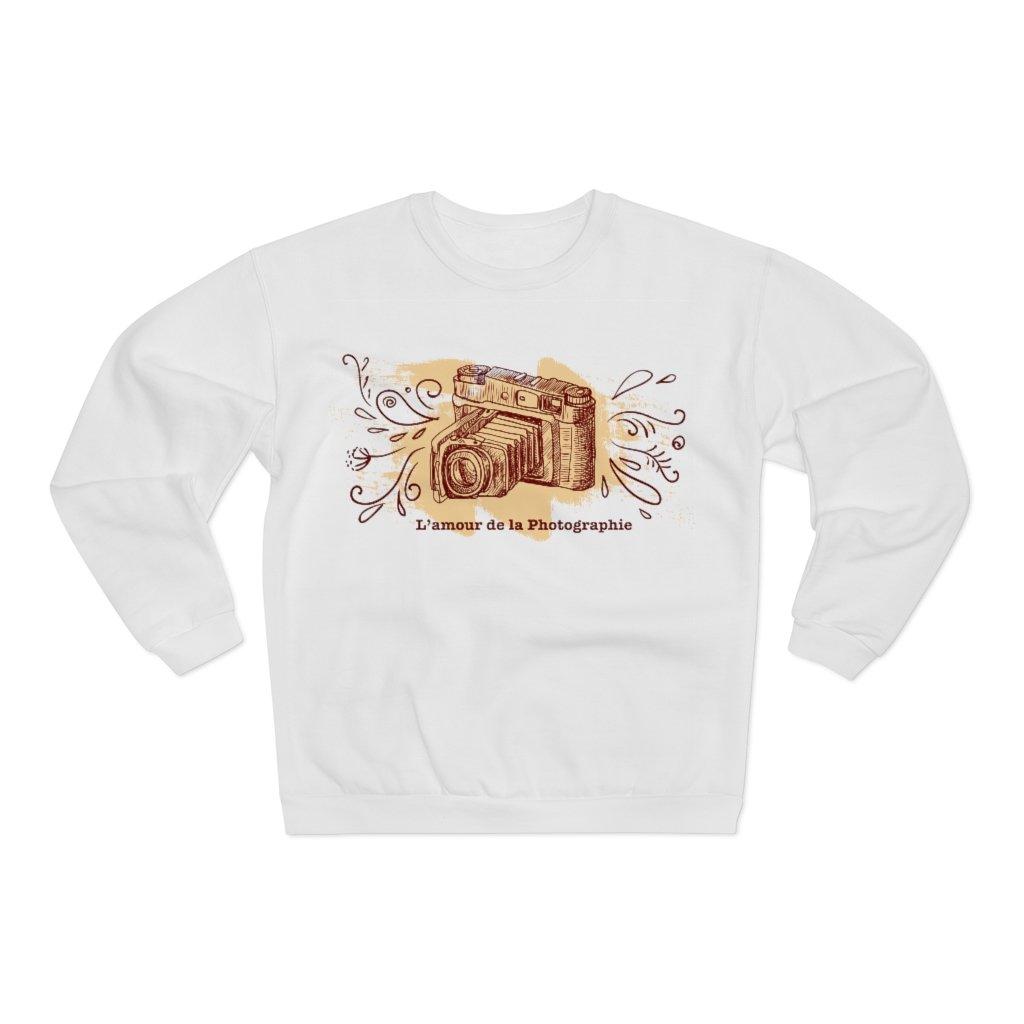 Fotograaf sweatshirt cadeau: L'amour de la Photographie - Sweatshirt met ronde hals, dames
