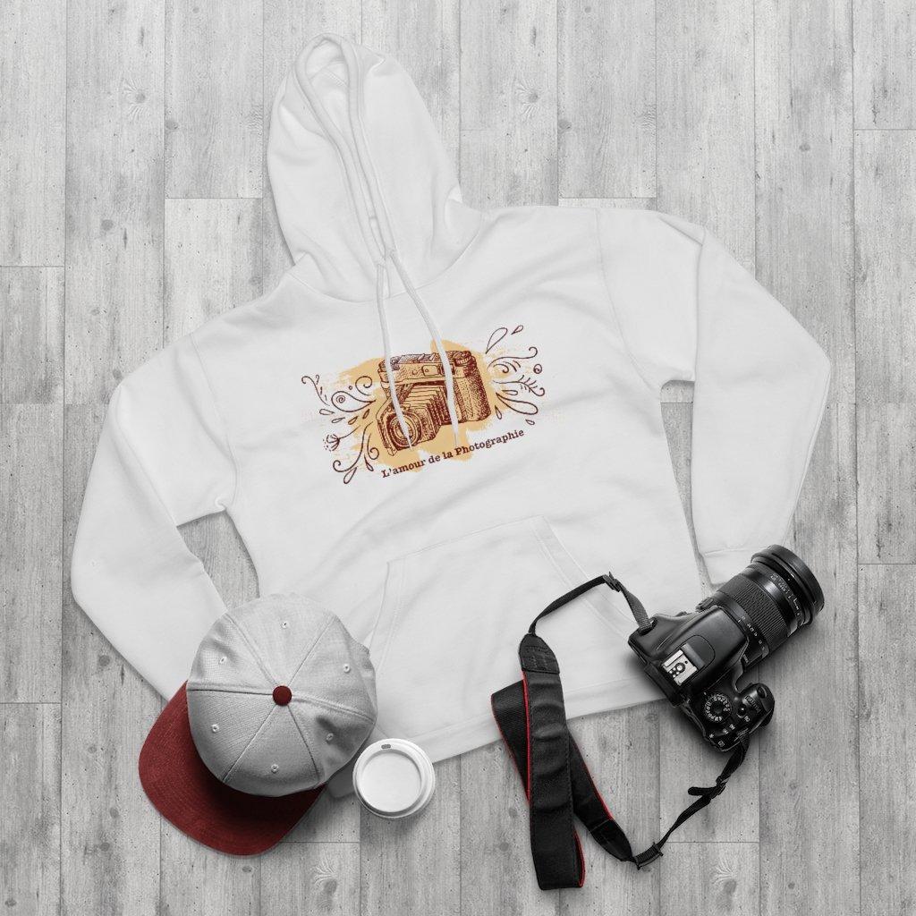 Fotograaf hoodie cadeau: L'amour de la Photographie - Pullover Hoodie, dames