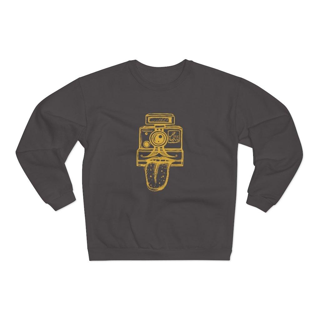 Fotograaf sweatshirt cadeau: With Love - Sweatshirt met ronde hals, unisex