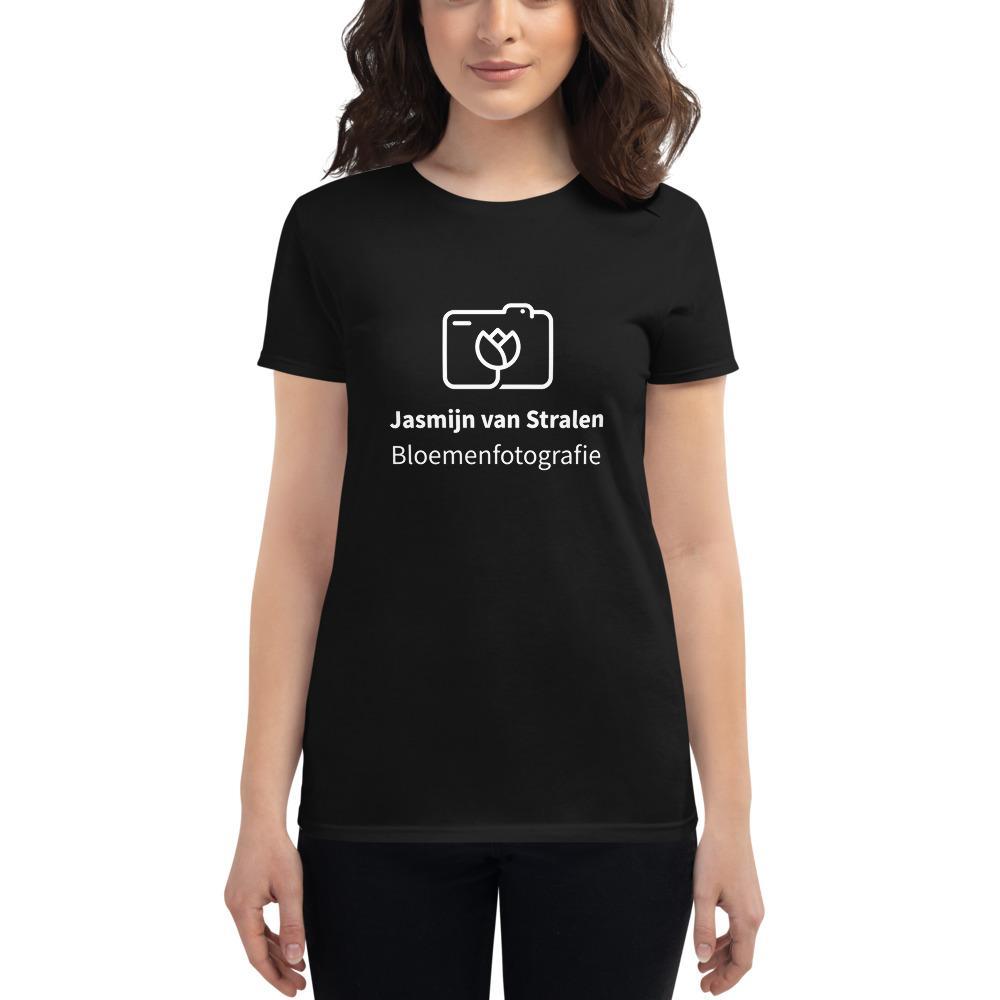 Fotograaf T-shirt cadeau: Bloemenfotografie - T-shirt met korte mouwen, dames