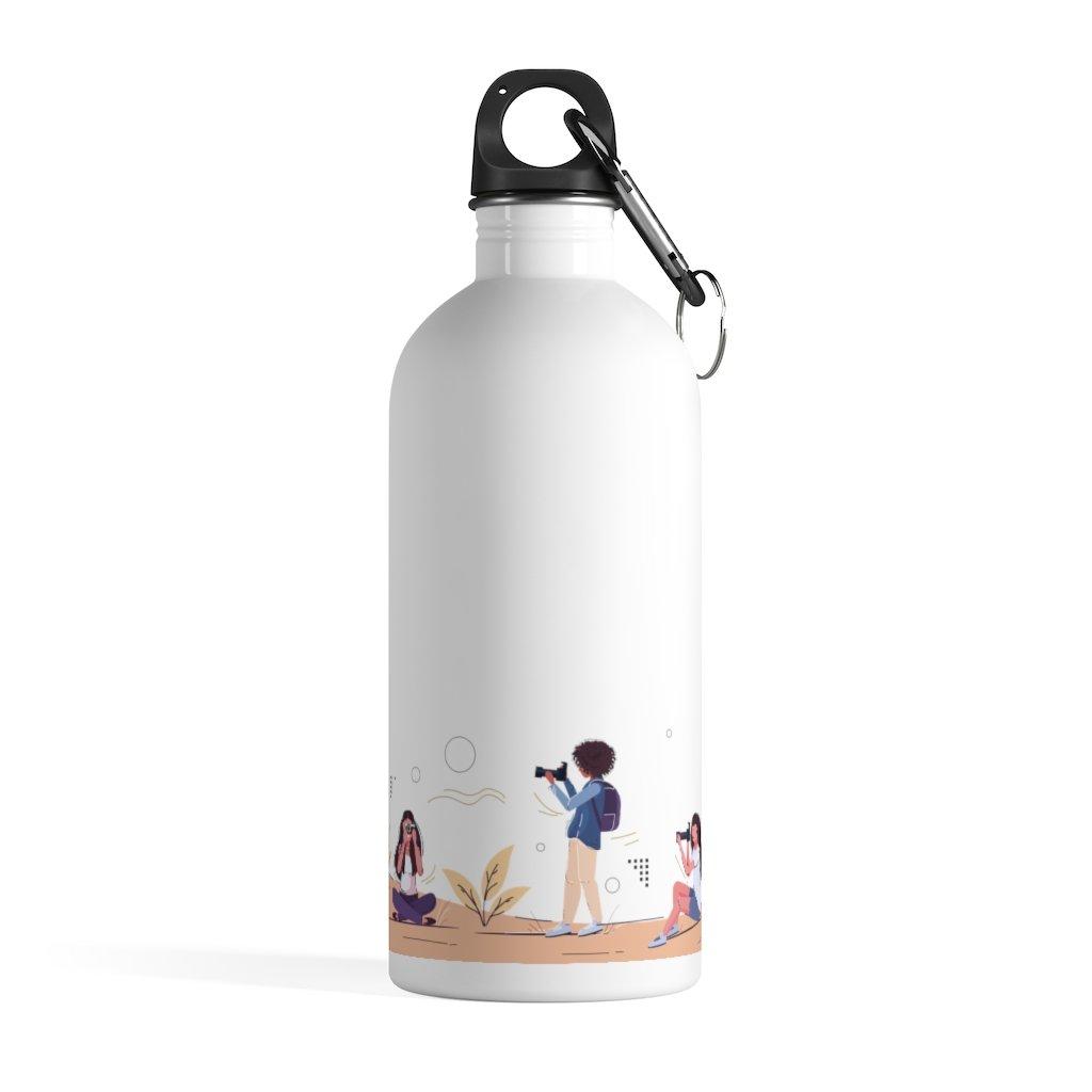 Fotograaf waterfles cadeau: Fotografen - Roestvrijstalen waterfles, zero-waste