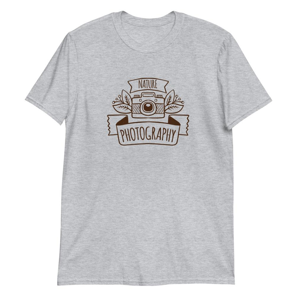 Fotograaf cadeau: Nature Photography Vintage - T-shirt met korte mouwen, unisex