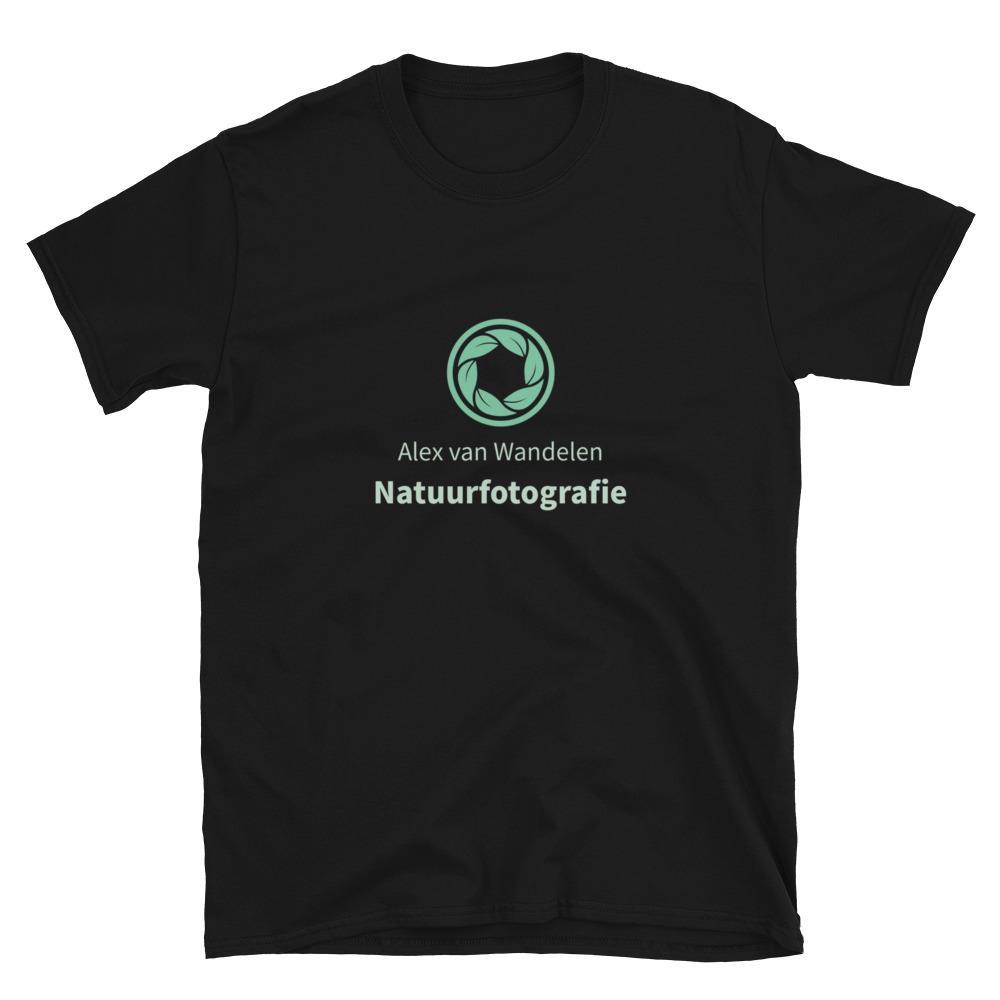 Fotograaf T-shirt cadeau: Natuurfotografie - Gepersonaliseerd T-shirt met korte mouwen, unisex
