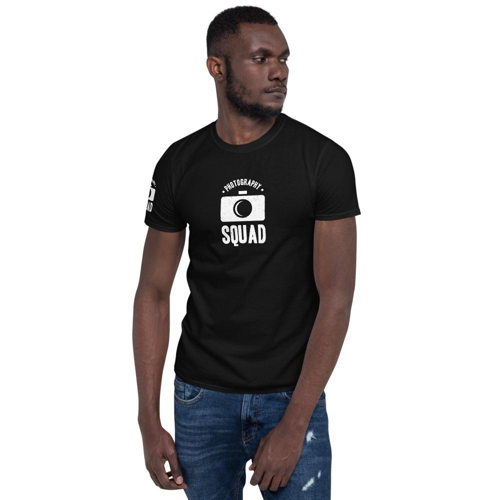 T-shirt fotograaf: Photography Squad - T-shirt met korte mouwen, heren