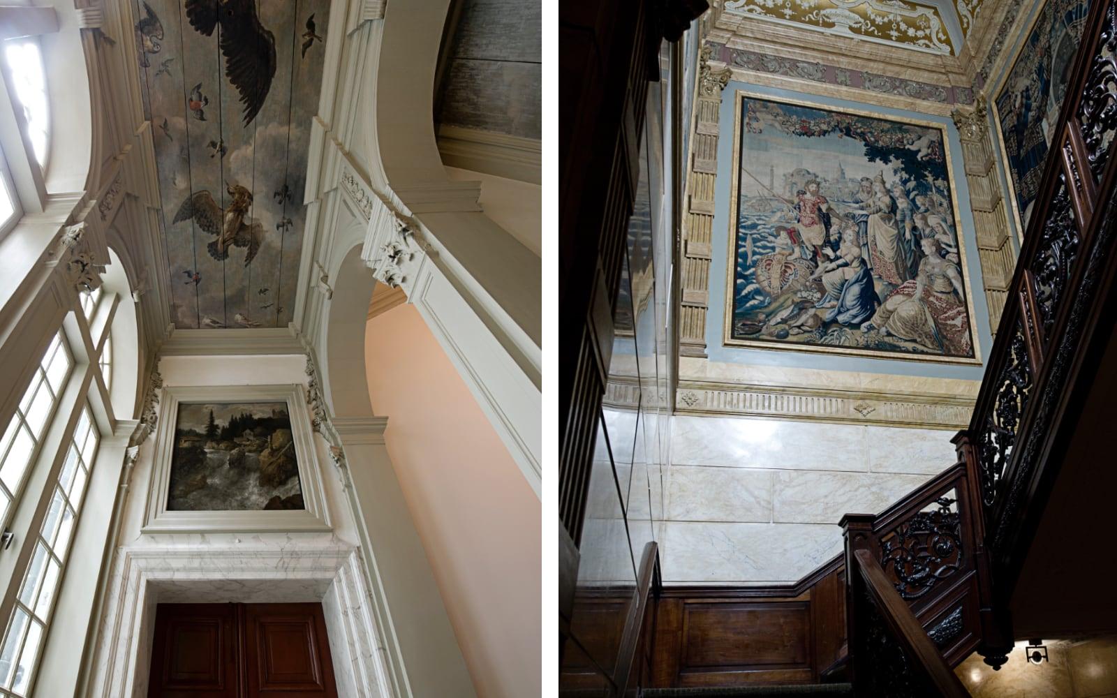 foto: © Arjan Bronkhorst - Grachtenhuizen, interieurs, schilderingen