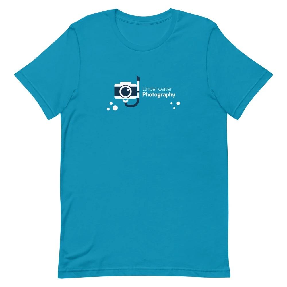 T-shirt fotograaf: Underwater Photography - T-shirt met korte mouwen, heren
