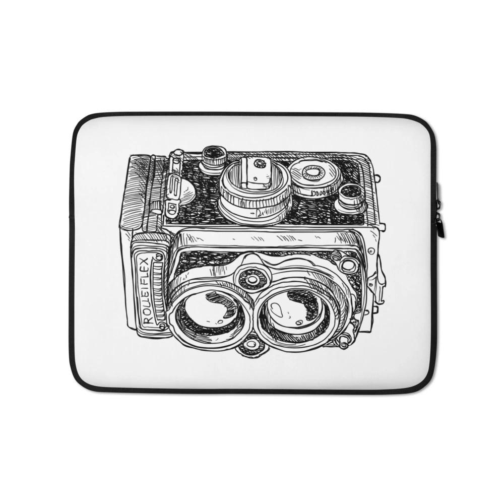 Laptophoes voor fotograaf: Rolleiflex - Laptop hoes