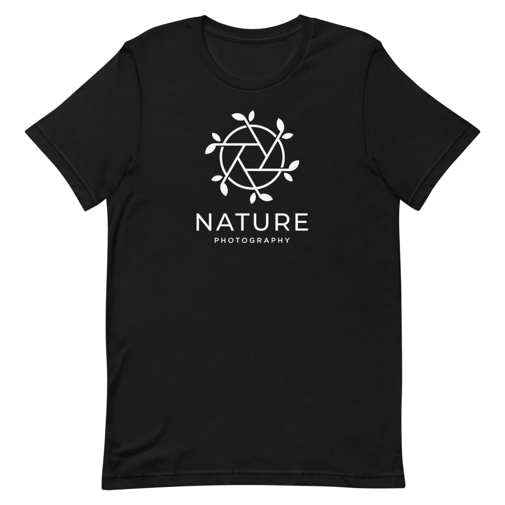T-shirt natuurfotograaf: Nature Photography - T-shirt met korte mouwen, heren