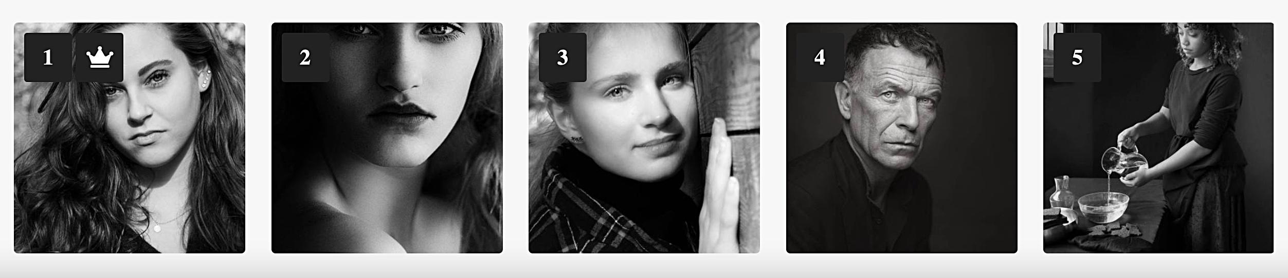 Winnaars Fotowedstrijd Portet in zwart-wit 2021 van Fotografie.nl