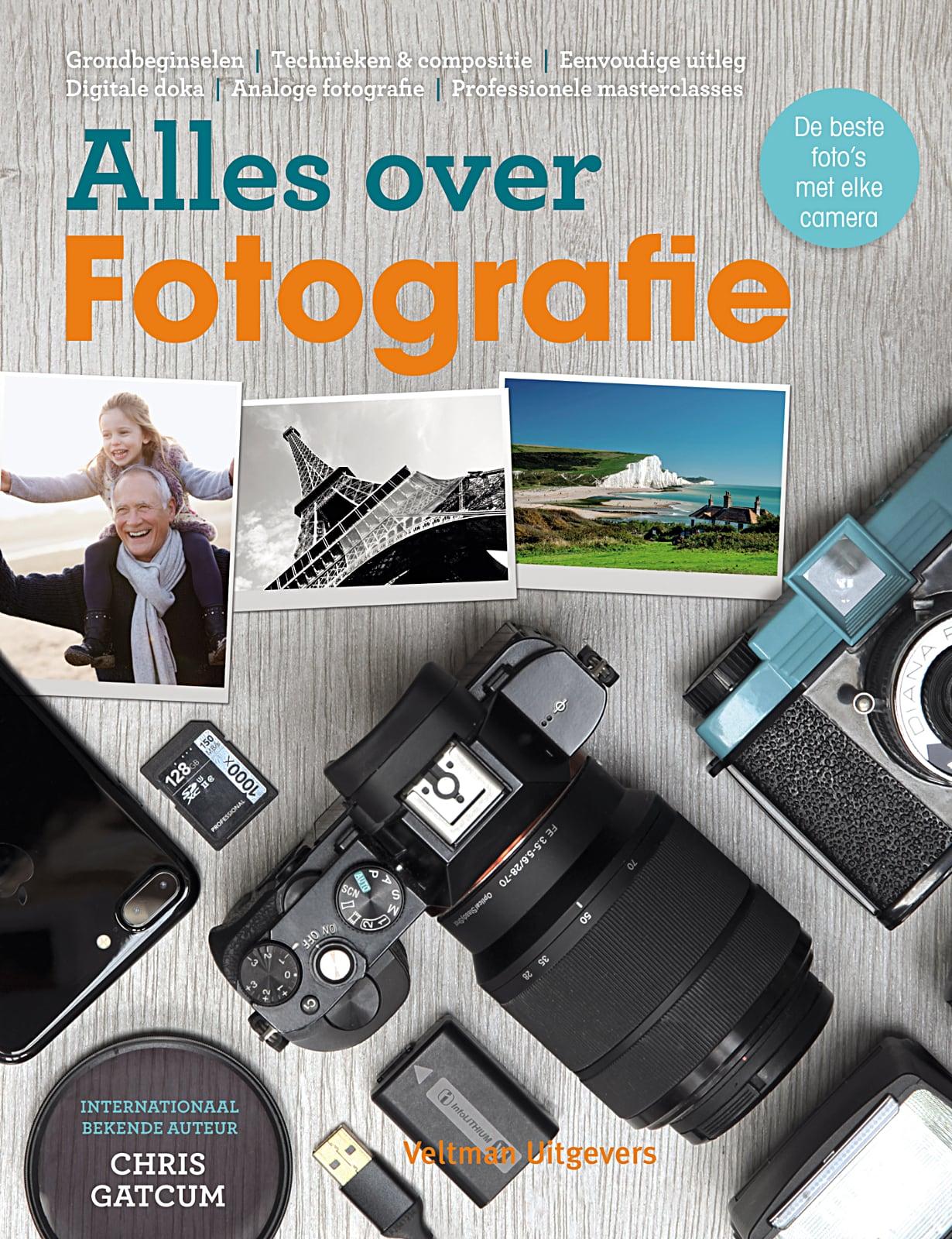Alles over Fotografie - hét handboek om met elke camera de best mogelijke foto's te maken. Auteur Chris Gatcum, isbn 9789048315734