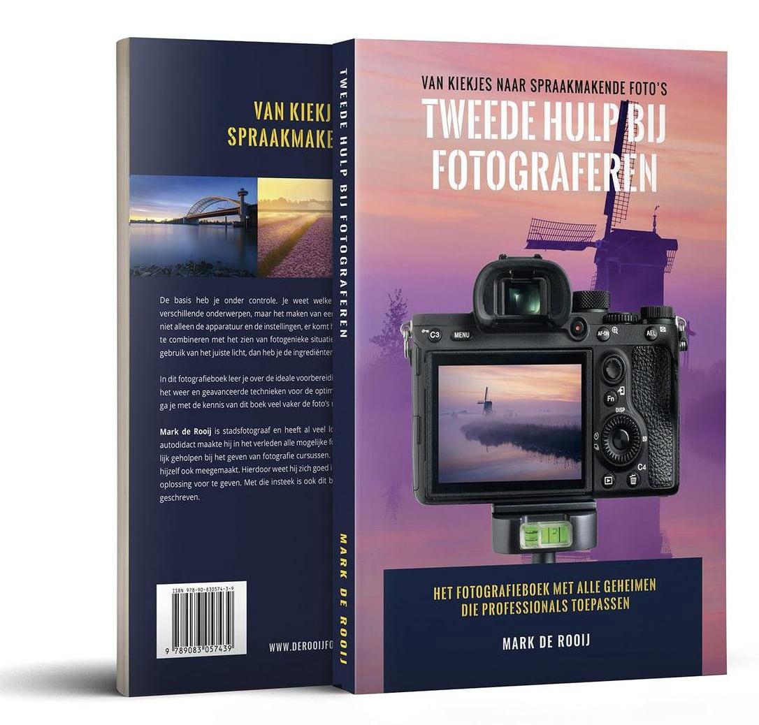 Tweede Hulp Bij Fotograferen (educatief fotografieboek) - Mark de Rooij, isbn 8719324545433