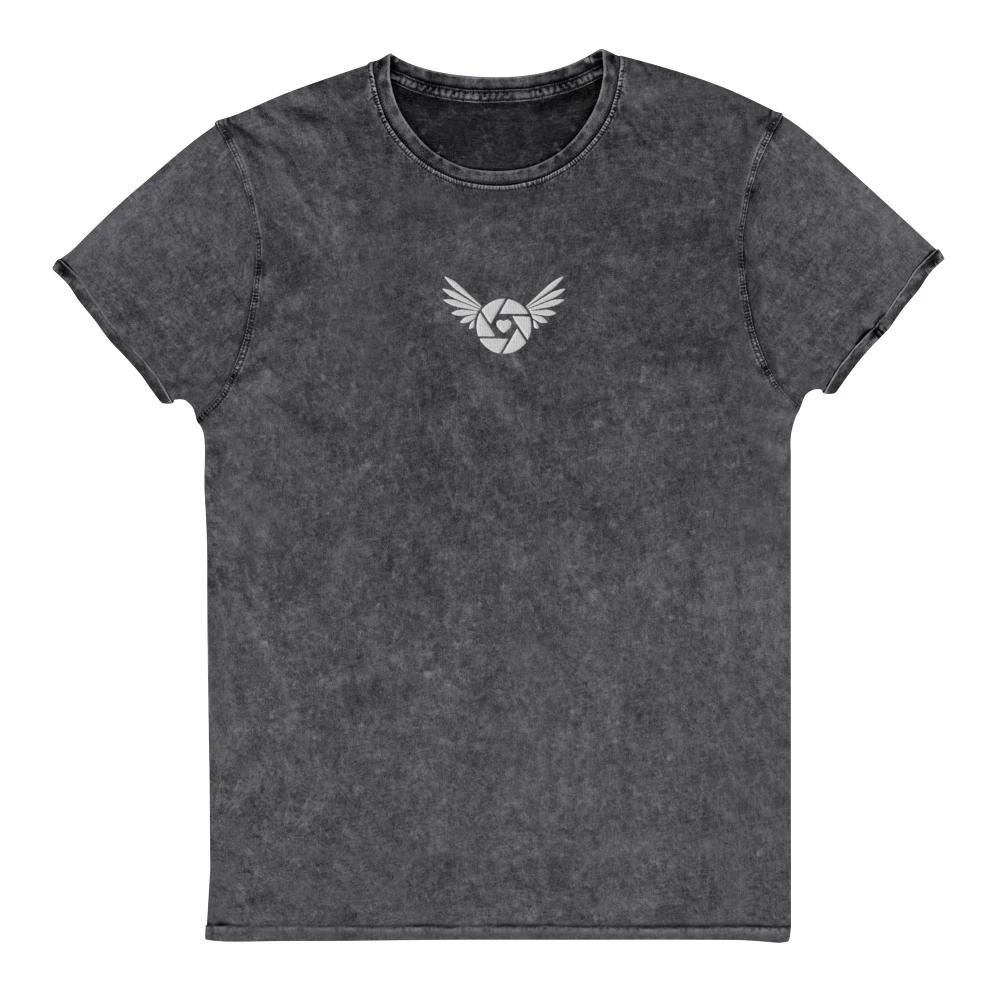 Fotografie T-shirt: Fotografie vleugels - Denim T-Shirt