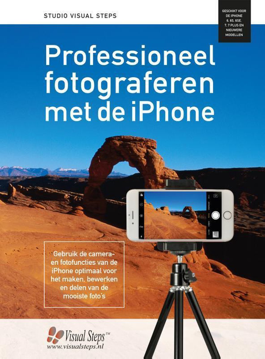 Professioneel fotograferen met de iPhone, Studio Visual Steps, ISBN 9789059056831