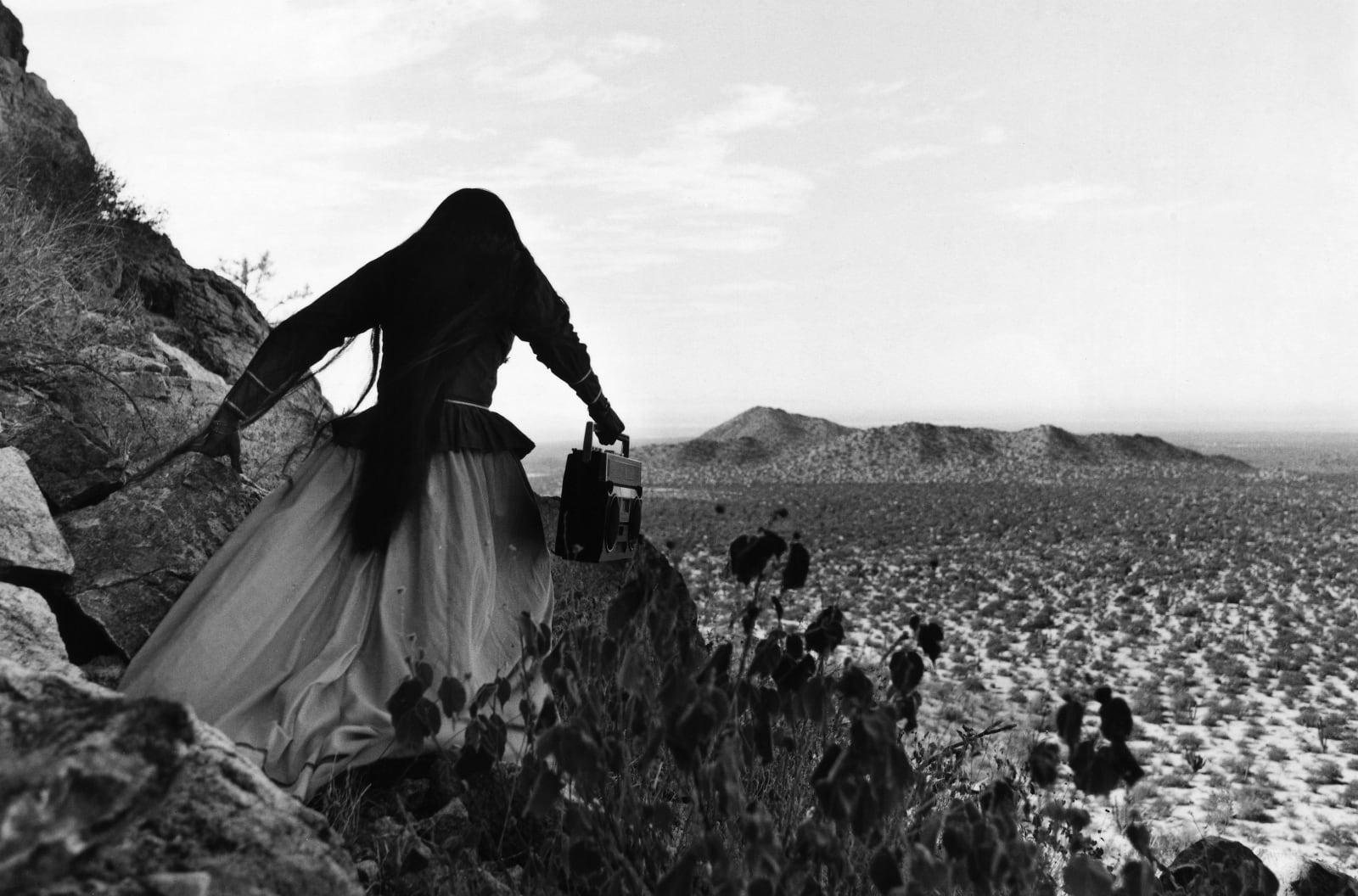 © Graciela Iturbide, Mexico, 2021 Sony World Photography Awards - Mujer Angel, Desierto de Sonora, Mexico, 1979