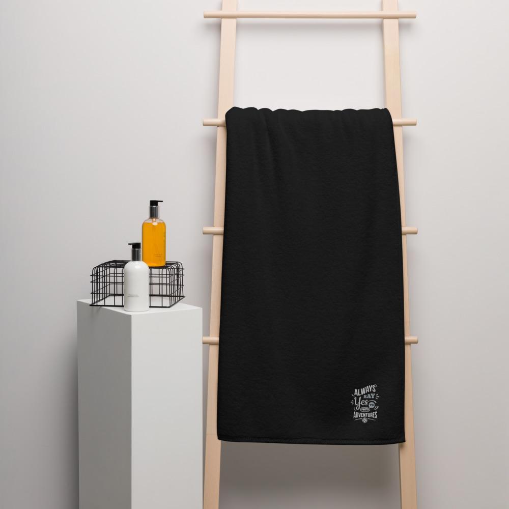 Grote badhanddoek voor een fotograaf