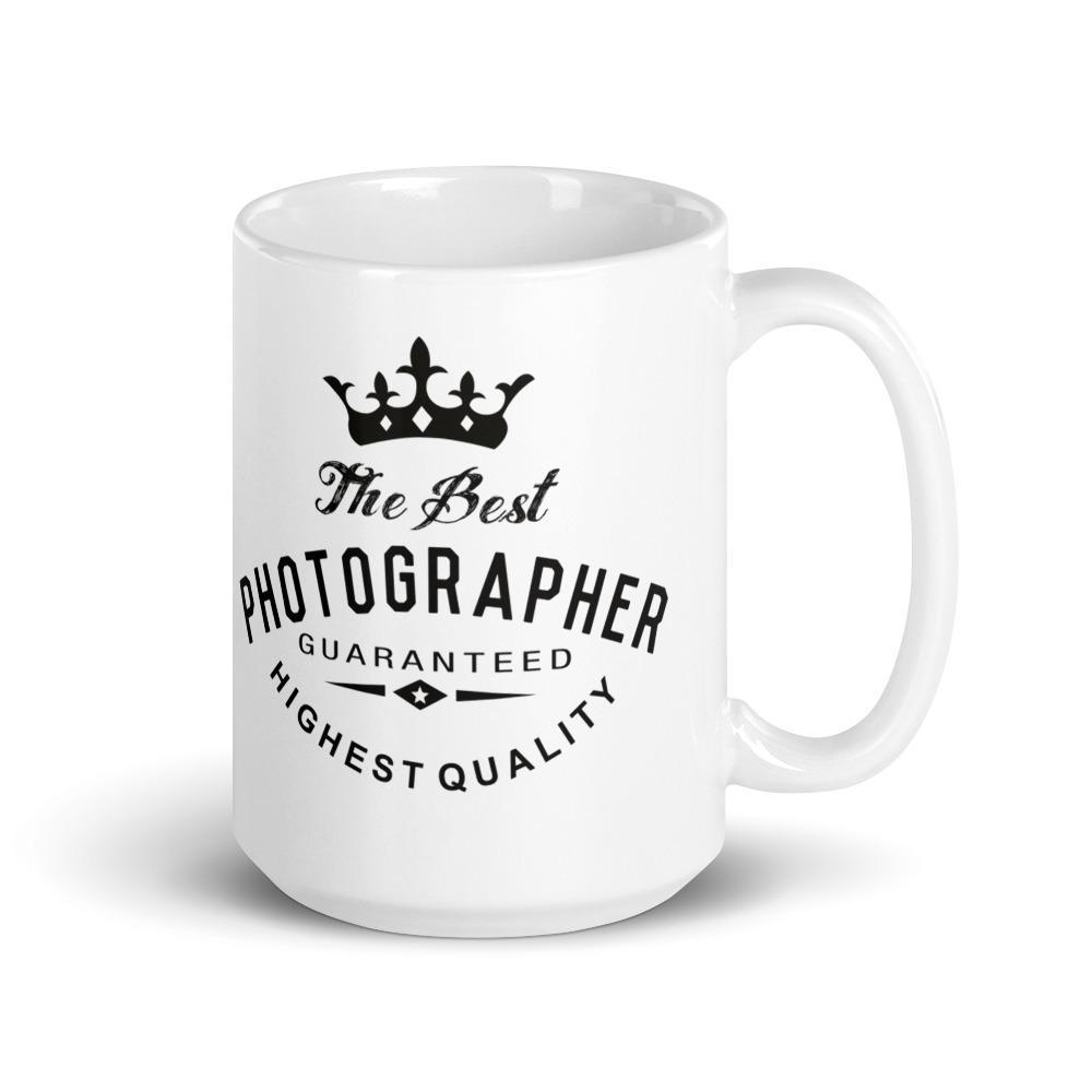 Mok voor fotograaf met tekst Best Photographer