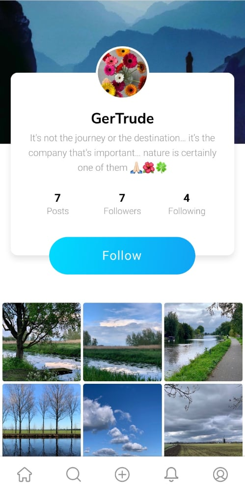 Relica app account