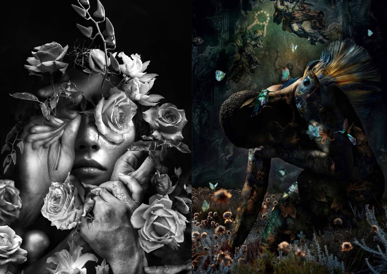 foto: © Uitgeverij Komma - Marcel van Luiten - Where the dreamers go - fantasie portretten