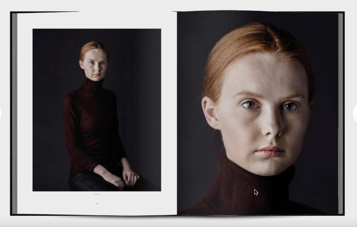 Fotoboek Unfolding Ambiguity - Richard Westerhuis, isbn 9789083103563. Portretseries als Rubber Identity, Through The Second Skin en Whanganui.