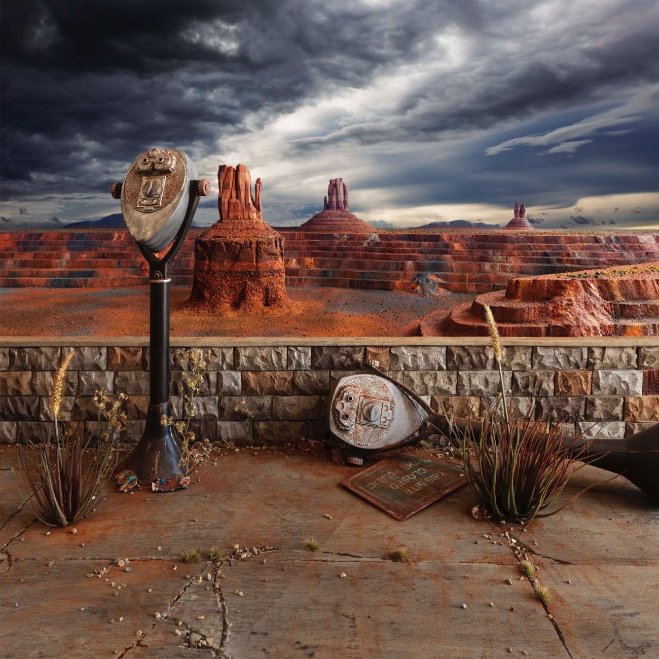 Fall Monument - fotograaf Lori Nix