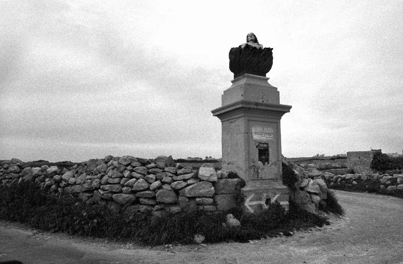 Eddy Posthuma de Boer - Malta zwartwit foto