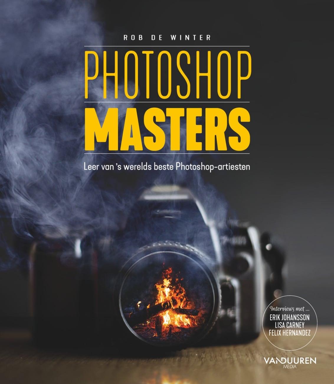 Photoshop Masters, 2e editie - Leer van 's werelds beste Photoshop-artiesten door Rob de Winter, isbn 9789463562232