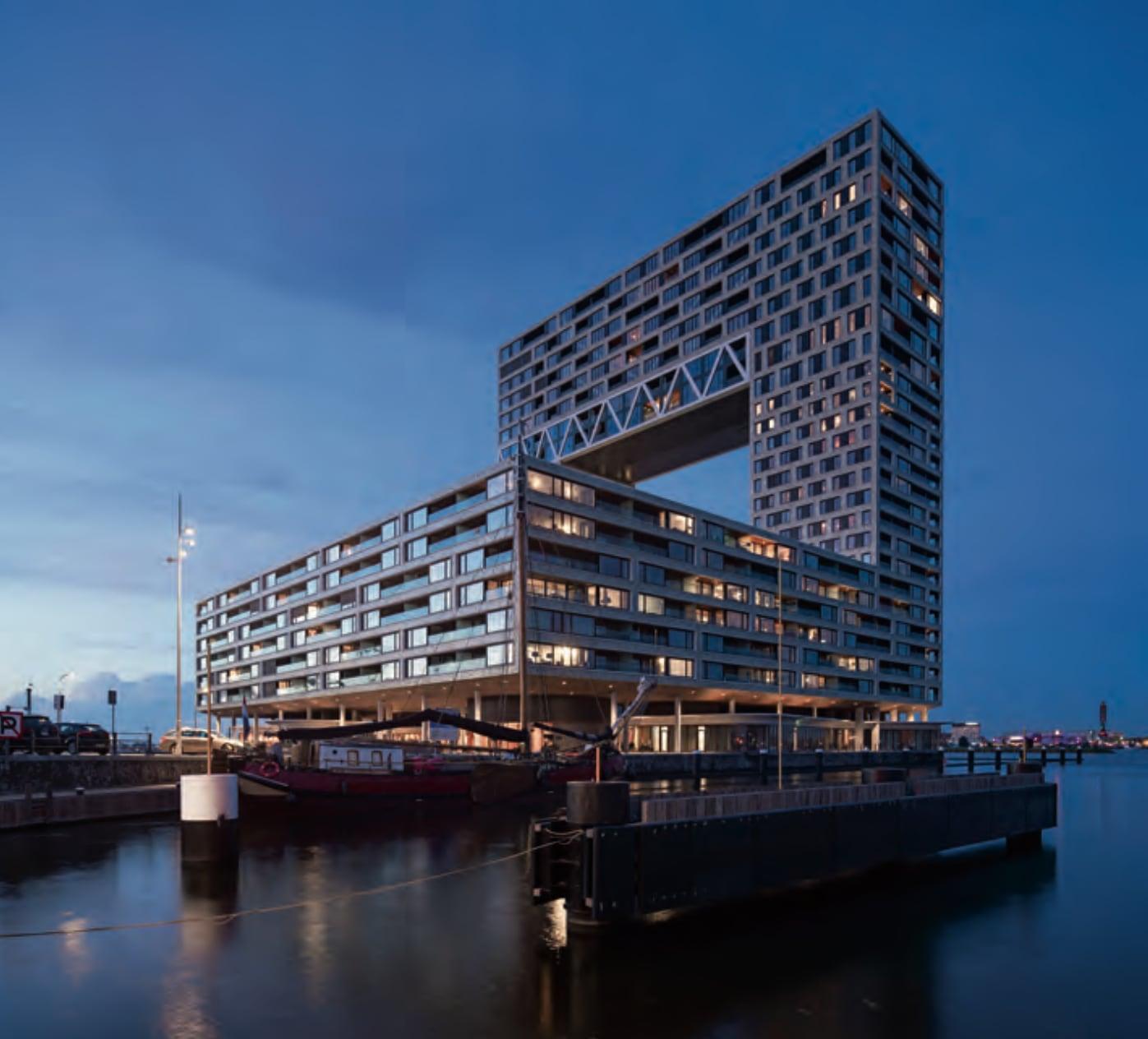 Pontsteiger, Amsterdam. Architecten: Arnoud Gelauff en Floor Arons.
