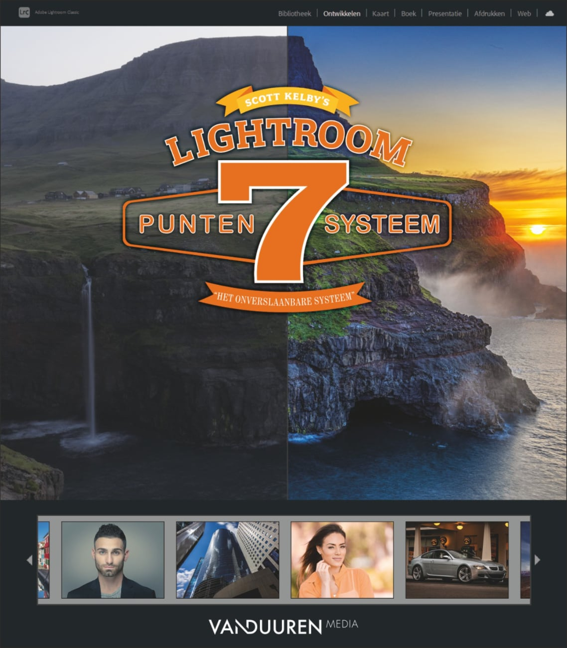Scott Kelby's zevenpuntensysteem voor Lightroom