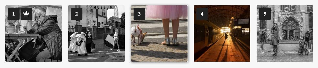 Winnaars Fotowedstrijd Straatfotografie 2021 van Fotografie.nl