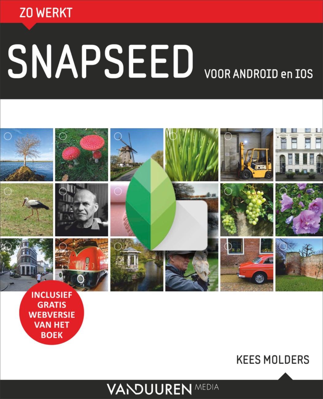 Zo werkt Snapseed - cover fotoboek