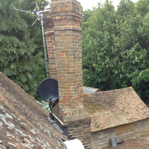 Roof satellite Dish