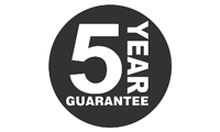 Aerial Tec 5 Year Warranty Icon