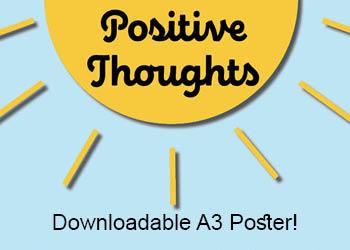 Positivie affirmations poster for kids