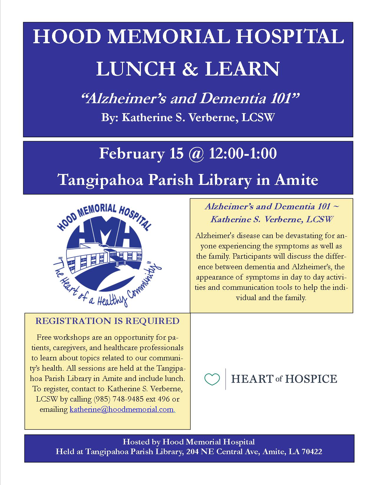 February Lunch & Learn
