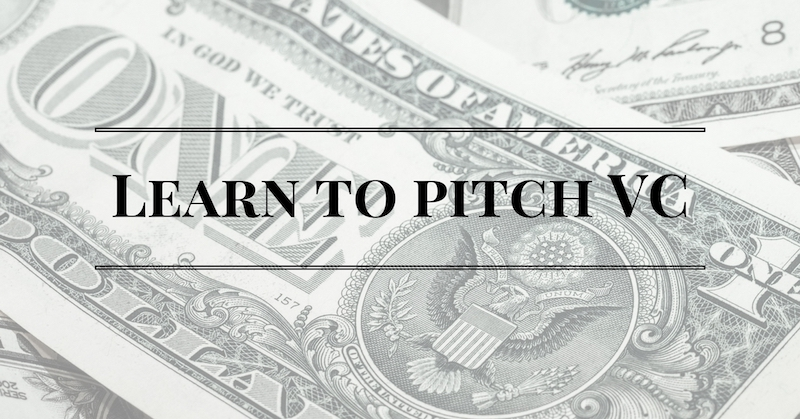 FREE consultation about how to pitch Venture Capital
