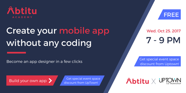 Abtitu Sean Leung - Create Your Mobile App without Coding