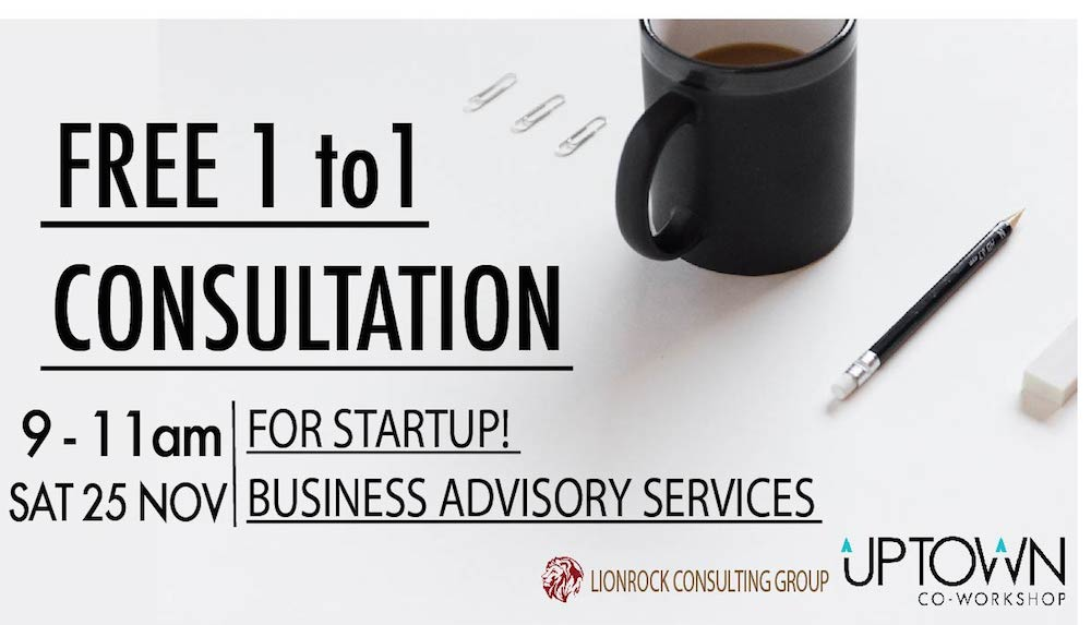 Free 1 to 1 Consultation - Business Advisory Services