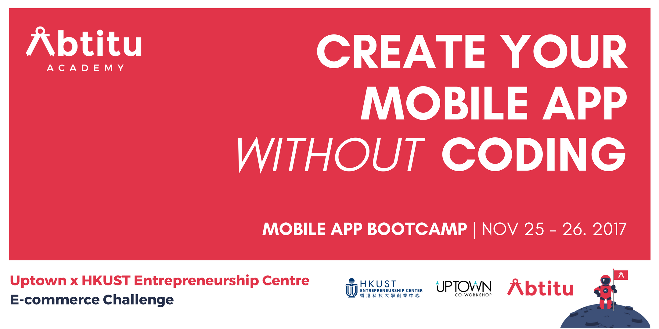 Create Your Mobile App Without Coding - 2 Days Bootcamp